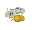 American Football Cap Shape Bottle Opener with Keychain