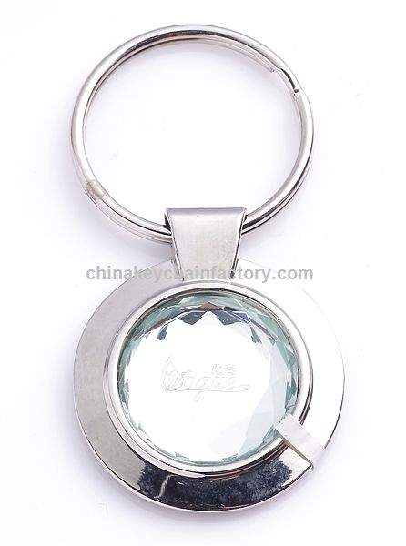 Round Crystal Key Chain Ky370h