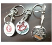 Trolly Coin Key Holder