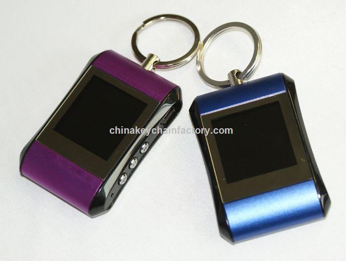 1,5 polegadas Digital Photo Frame Keychain