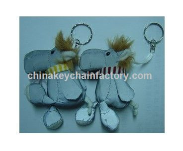 Reflective Horse Toys, Reflector Soft Keychains