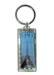 Horloge LCD solaire Keychain image clignotant