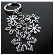 Key Ring flocons de neige