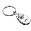TEAR DROP SHAPE GOLF KEYCHAIN