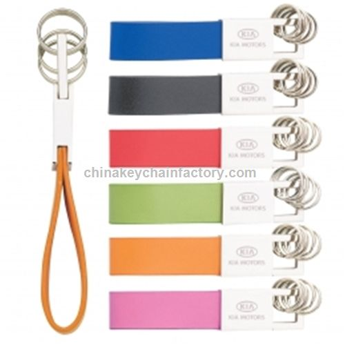 COLORPLAY RING LEATHER KEY