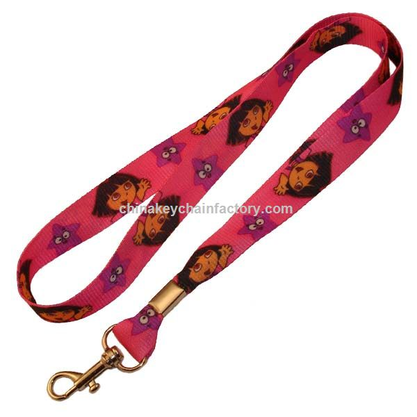 Dora The Explorer Lanyard porta-chaves chaveiro