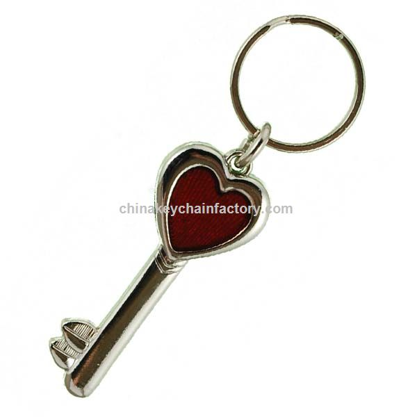 Key With Heart Stained Glass Keychain Key To My Heart