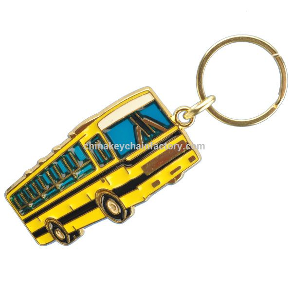 School Bus Chaveiro vitral