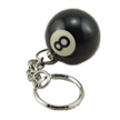 Billiard Ball Mini 8 Ball Keychain