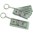 Money Five Assorted Bills Keychain