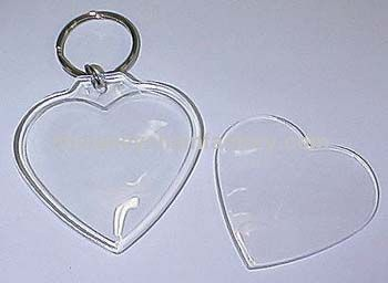 Foto Key Chain Large Heart