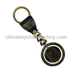 Two Tone Spinner Deluxe Keychain