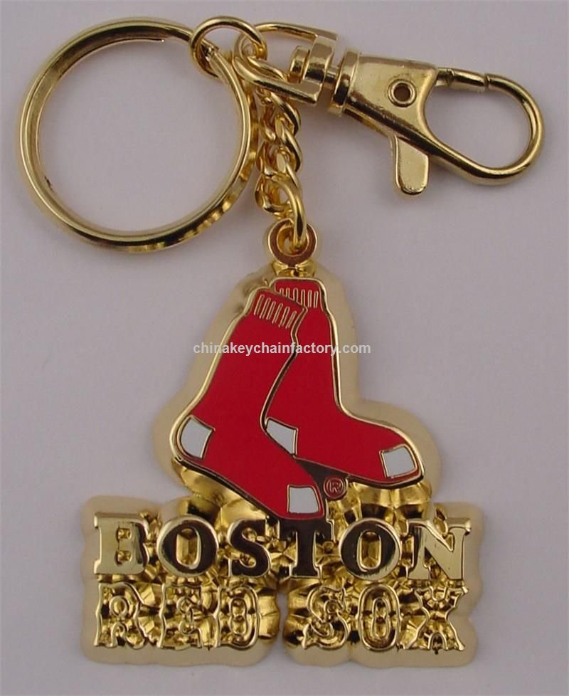 Boston Red Sox Deluxe Metall Schlüsselanhänger