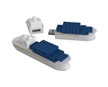 Cargo Ship Shaped USB Flash Drive - 1Gb 2GB 4GB 8GB 16GB 32GB