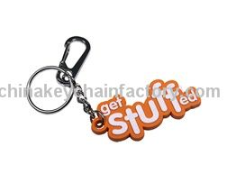 Custom Molded PVC Keyrings