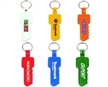 Key Shape Soft PVC Keytags