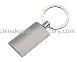 Silber Pillow Key Ring