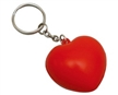 Heart Key Ring Stress Shapes