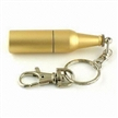 Bottle-shaped USB Flash Drive with Keychain,