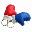 Fancy Mini Boxing Glove Keychain with Printing Space for Promotional Purpose
