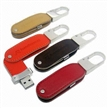 Leather Keychain USB Flash Drives,