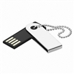 Mini Key Ring USB Flash Drive, Supports Plug-and-play Function and USB 3.0