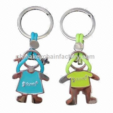 Lover Metal Keychains, Fashionable and Durable